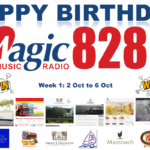 Happy Birthday Magic828AM – Week 1