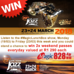 Win 2 x Weekend Passes to the Cape Town Jazz Festival