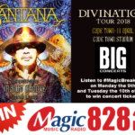 Win Tickets to see Santana live in Cape Town